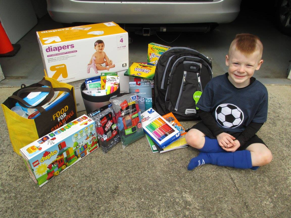 Toys For Boys Six Year : Six year old donates his birthday presents to kids in need! u2013 simple