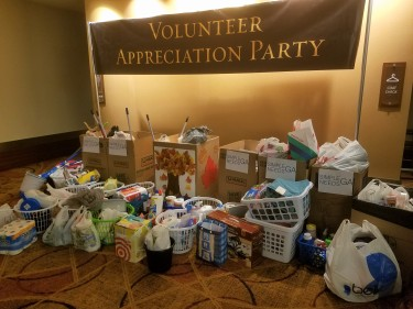 Cobb Energy Center dinner donations