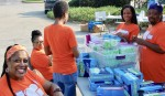Firserv volunteer day, Simple Needs GA, Hands on Atlanta Day